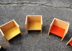 3way box chairソリッド