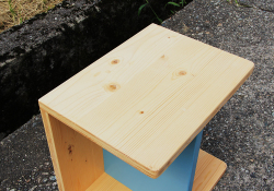 3wey box chair for kidsソリッド9